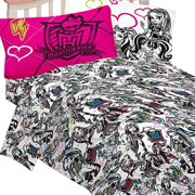 Monster High Sheet Set Ghouls Rule Bedding Accessories