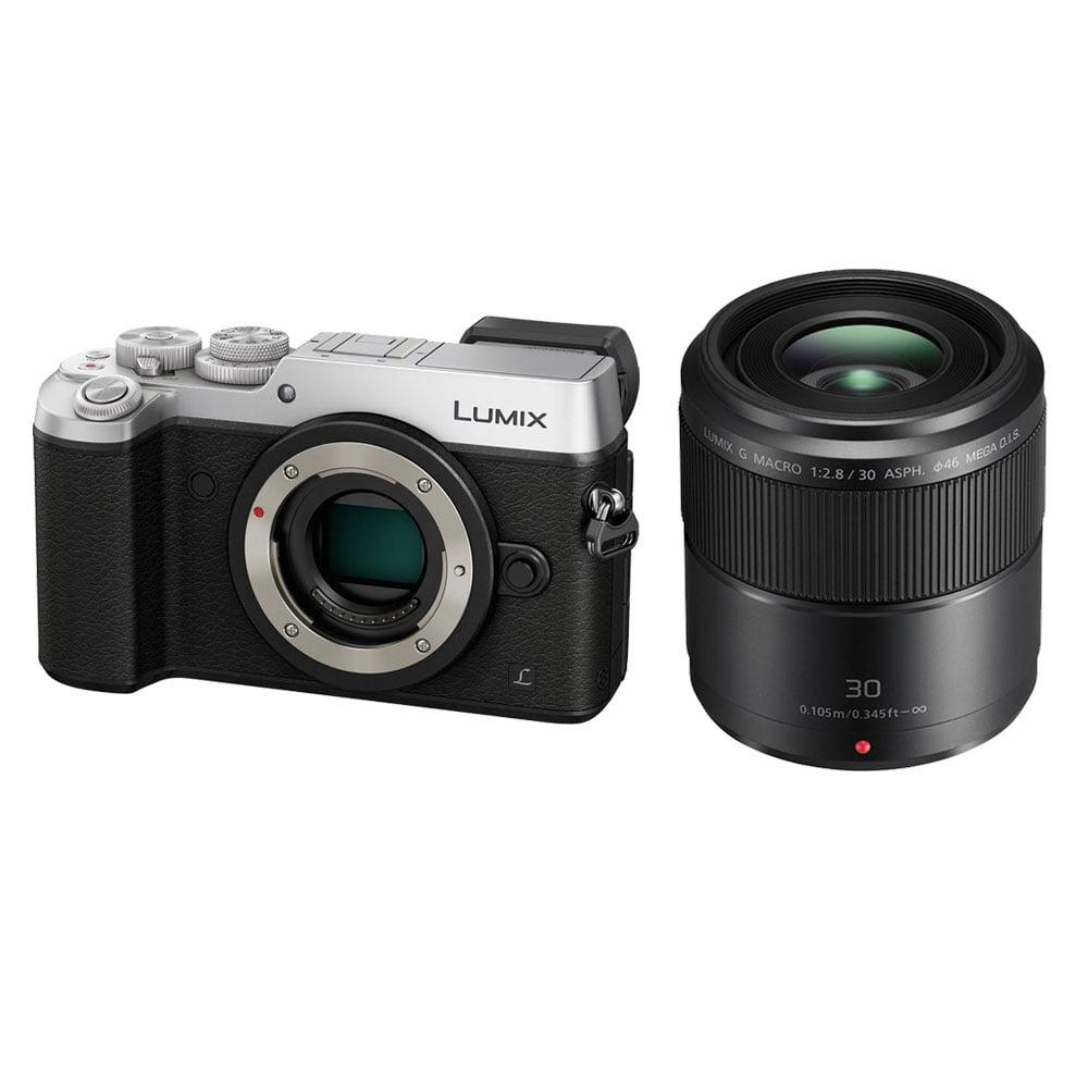 Panasonic Lumix DMC-GX8 Digital Camera (Body Only, Silver) + 30mm f 2.8 Lens by Panasonic