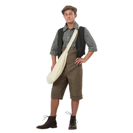 Adult 20's Newsie Costume (Mens 20's Costumes)