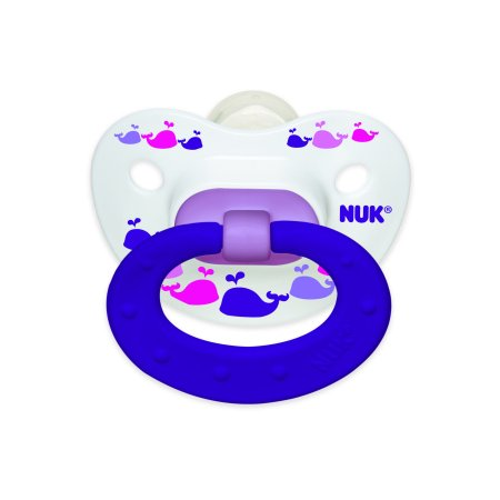 (2 Pack) NUK Orthodontic Pacifiers, 18-36 Months - 2 Counts