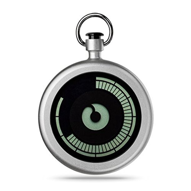 ZIIIRO Z0009PWS Titan Chrome Pocket Watch