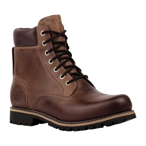 "Men's Timberland Earthkeepers Rugged 6"" Waterproof Plain Toe Boot by Timberland"