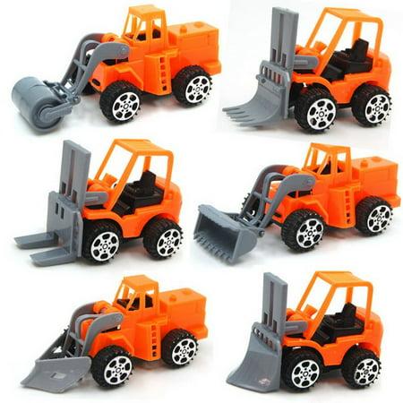 Pull Back Car Mini Car Forklift Toy Car Model Excavator - image 6 de 6
