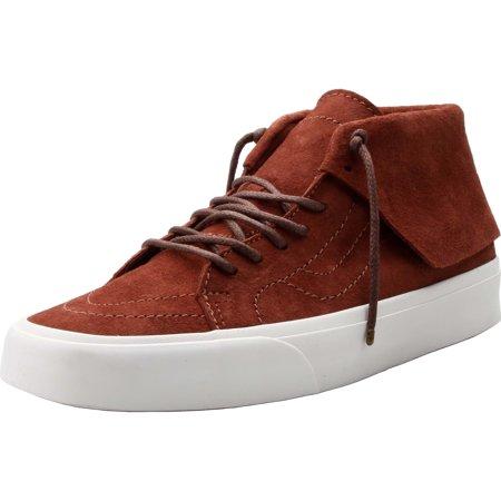 Vans SK8 Hi Mid Moc CA Pig Suede Tortoise Shell Men's Skate Shoes Size 11