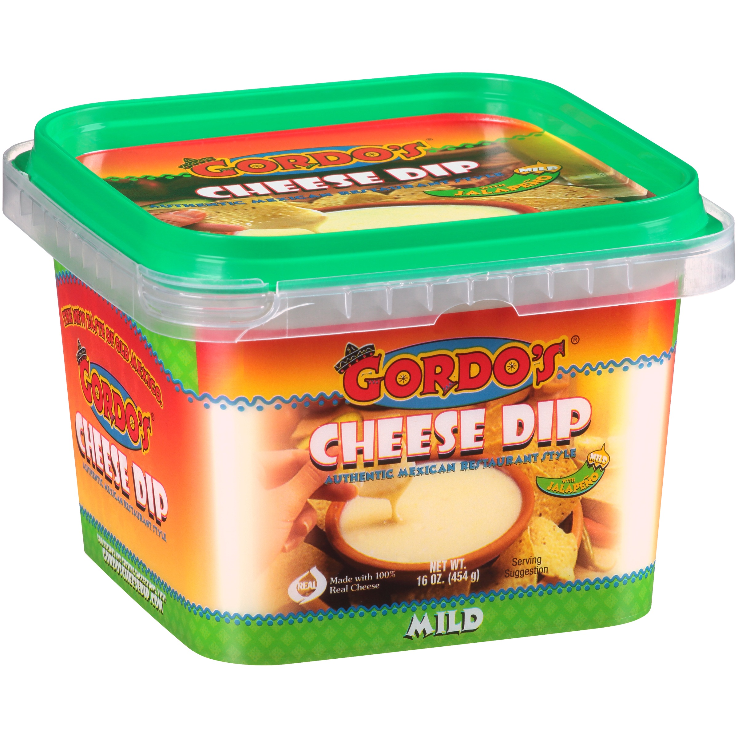 Gordo's® Mild Cheese Dip 16 oz. Tub