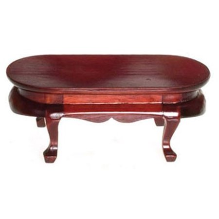 - Dollhouse Victorian Oval Coffee Table Ma
