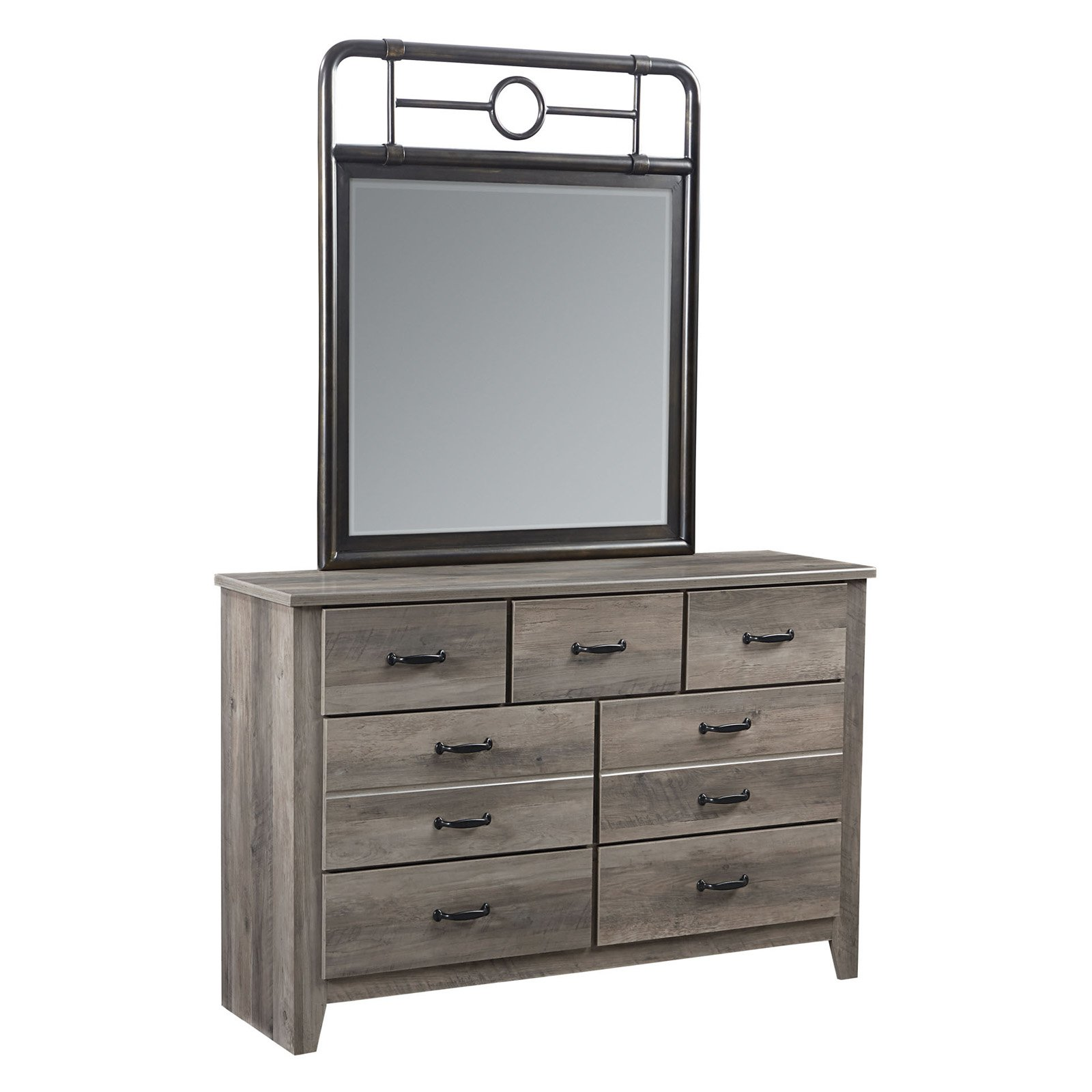 Standard Furniture Barnett 7 Drawer Dresser With Mirror