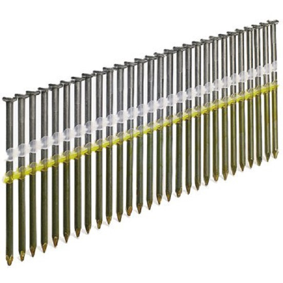 SENCO KD28ASBSR .131 in. x 3-1/4 in. Hot Dipped Full Round Head Nails