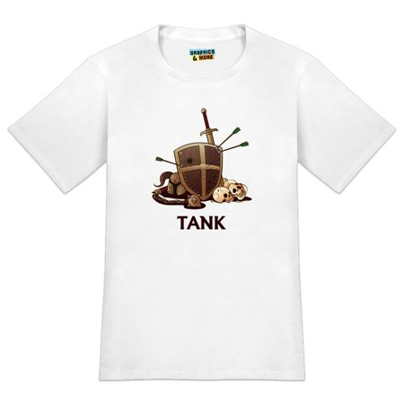Tank Warrior RPG MMORPG Class Role Playing Game Men's Novelty