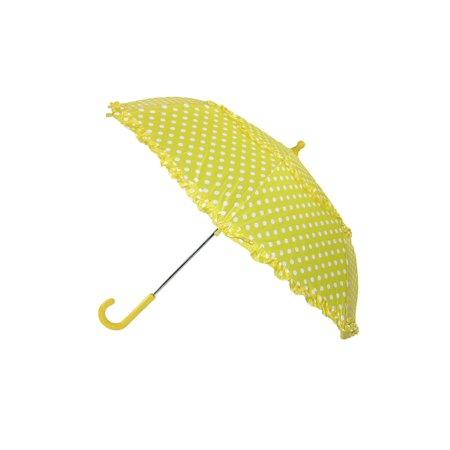 Polka Dot Ruffle Legging - iRain Kids' Hook Handle Ruffled Polka Dot Umbrella, Size:  one size