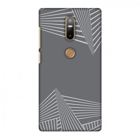 Carbon Star Snap - Lenovo Phab 2 Plus Case - Carbon Fibre Redux Stone Gray 3, Hard Plastic Back Cover, Slim Profile Cute Printed Designer Snap on Case with Screen Cleaning Kit