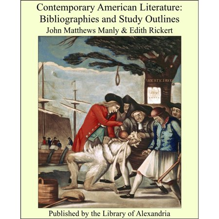 Contemporary American Literature: Bibliographies and Study Outlines -