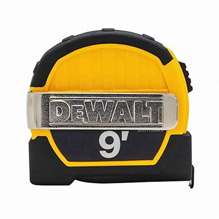 Pocket Tape - DeWalt - DWHT33028 - 9 ft. Pocket Tape Measure With Magnetic Back