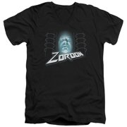 Mighty Morphin Power Rangers Zordon Mens V-Neck Shirt