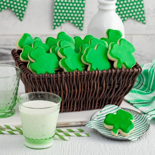 Mrs Fields St Patrick's Day Frosted Gift Basket