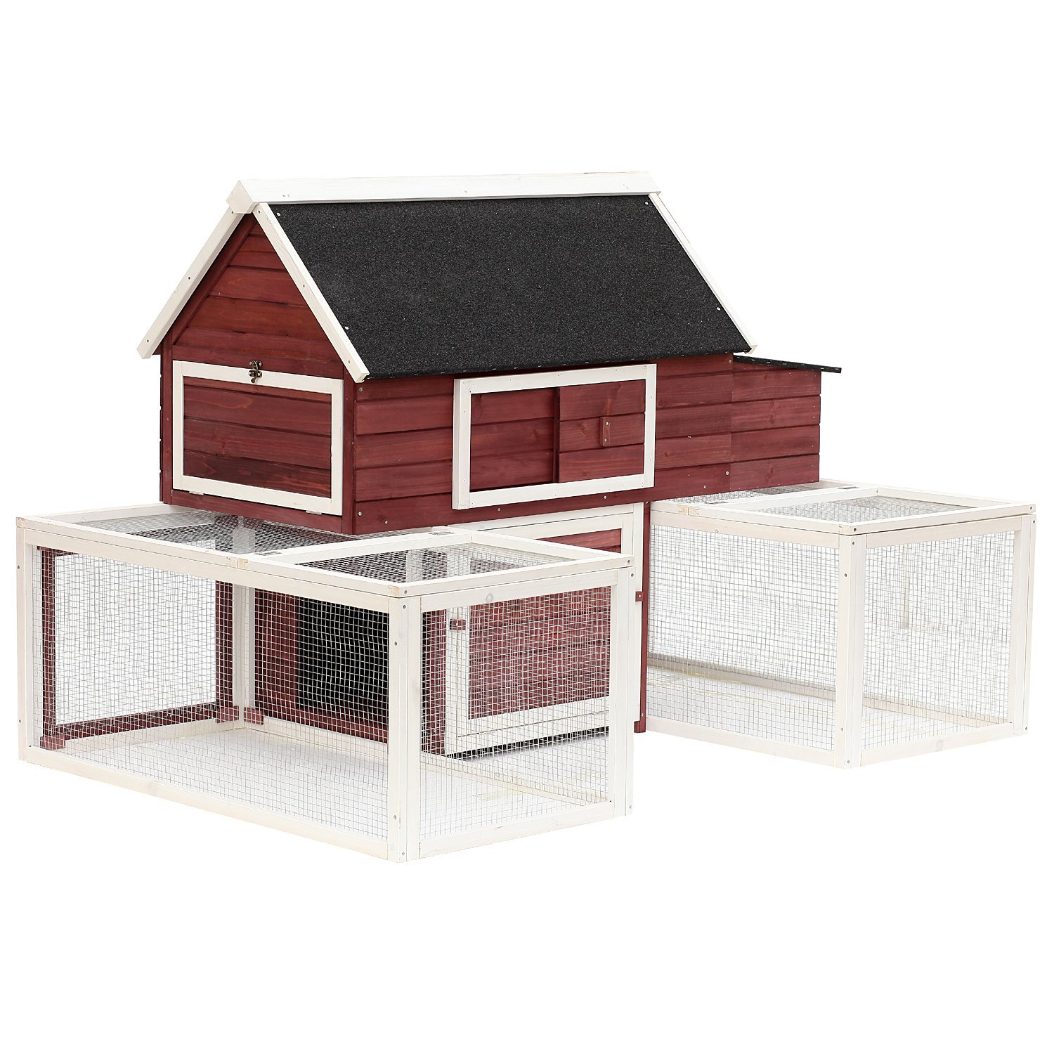 com merax sale pet handmade cage small wooden hutch animals supplies house dp rabbit for hutches amazon