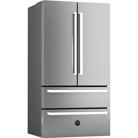 Bertazzoni REF36 Stainless Steel 21 Cubic Foot French Door Refrigerator Cubic Foot French Door