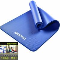 Deals on SKONYON Yoga Mat All-Purpose 2/5-In High Density Foam Exercise