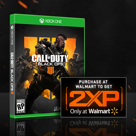 Call of Duty: Black Ops 4, Activision, Xbox One � Purchase the game to get 2XP � Only at... by Activision