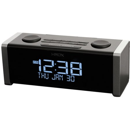 Homedics HX-B440 Cube Bluetooth Dual Alarm Clock Radio