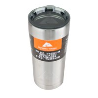 Ozark Trail 4 pack 20-Ounce Double Wall Vacuum Sealed, non skid bottom with locking lid Stainless Steel Tumbler