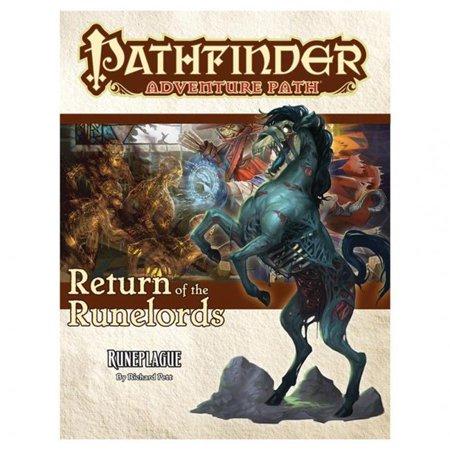 Paizo PZO90135 RotR 3 Runeplague Pathfinder Adventure Path Roleplaying Game