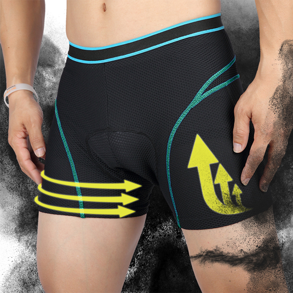 3D Gel Padded Cycling Underpants Bicycle Lightweight Bike Underwear//Shorts//Pants