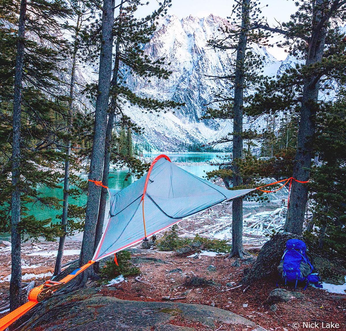 Tentsile Flite 2 Person Four Season C&ing Suspended Tree Tent - Walmart.com & Tentsile Flite 2 Person Four Season Camping Suspended Tree Tent ...