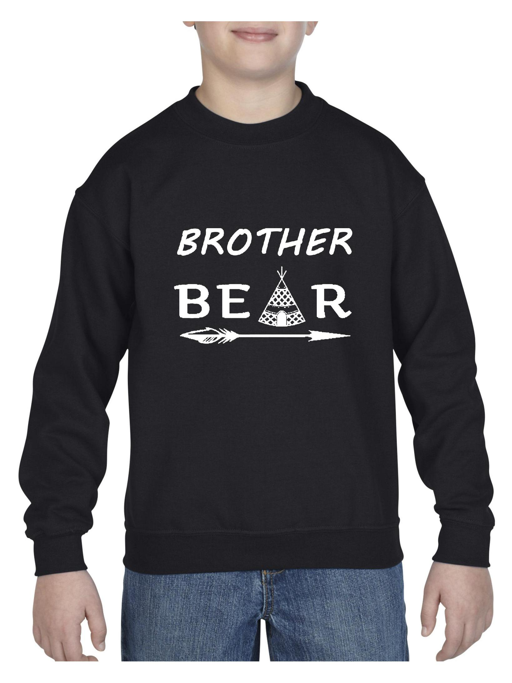 Brother Bear Unisex Youth Crewneck Sweatshirt