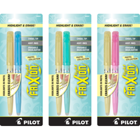 Frixion Light Pastels Erasable Highlighter Quantity Of 6