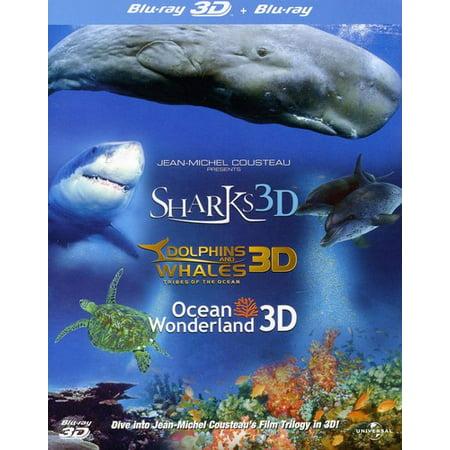 Jean-Michel Cousteau 3D Film Trilogy - Halloween Film Documentary