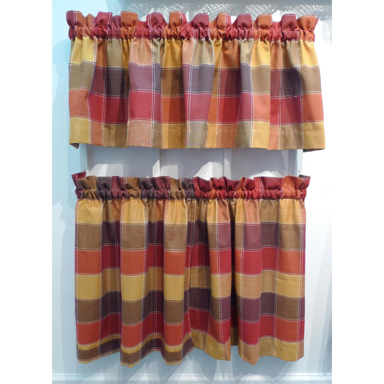 Plaid Curtains Walmart Com