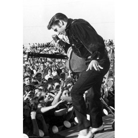 Elvis Presley Poster - Live In Concert Tupelo - New 24x36