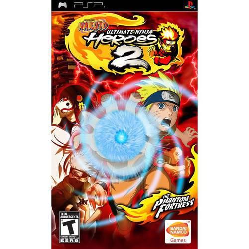 Naruto-Ultimate Ninja Heros 2 (PSP) - Pre-Owned