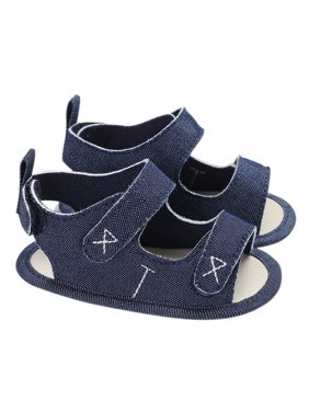 c5e487a05 Product Image Baby Boys Shoes Canvas Cloths Sandal Soft Sole Non-Slip  Prewalker For Newborn Infant Toddler