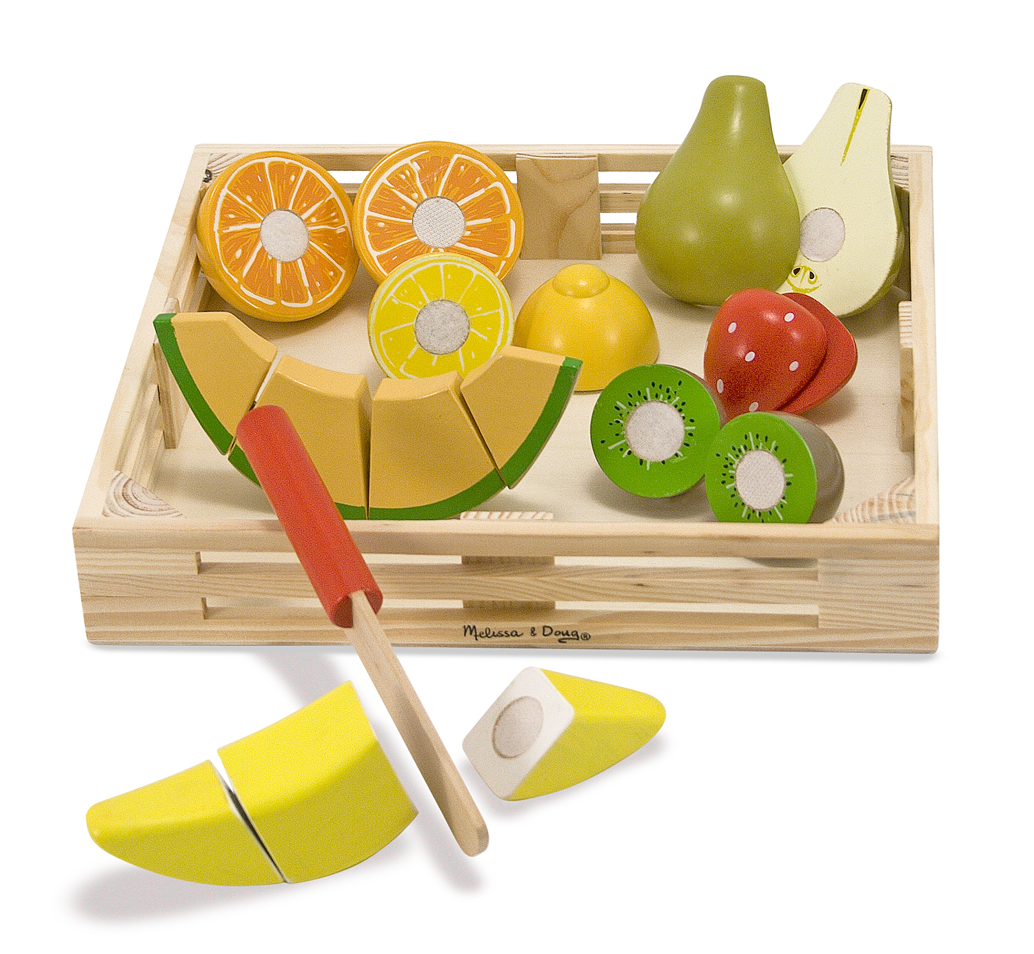 Decor Artificial Lemon Orange Decoration Lifelike Toy Kitchen Club Slices 6 pcs Home Décor