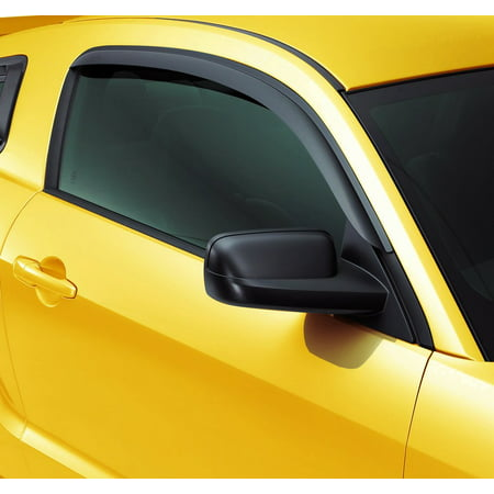 Ford Mustang Window - Fit 05-09 Ford Mustang window visor shade vent wind rain deflector For 05 06 07 08 09 2005 2006 2007 2008 2009 Bullitt G
