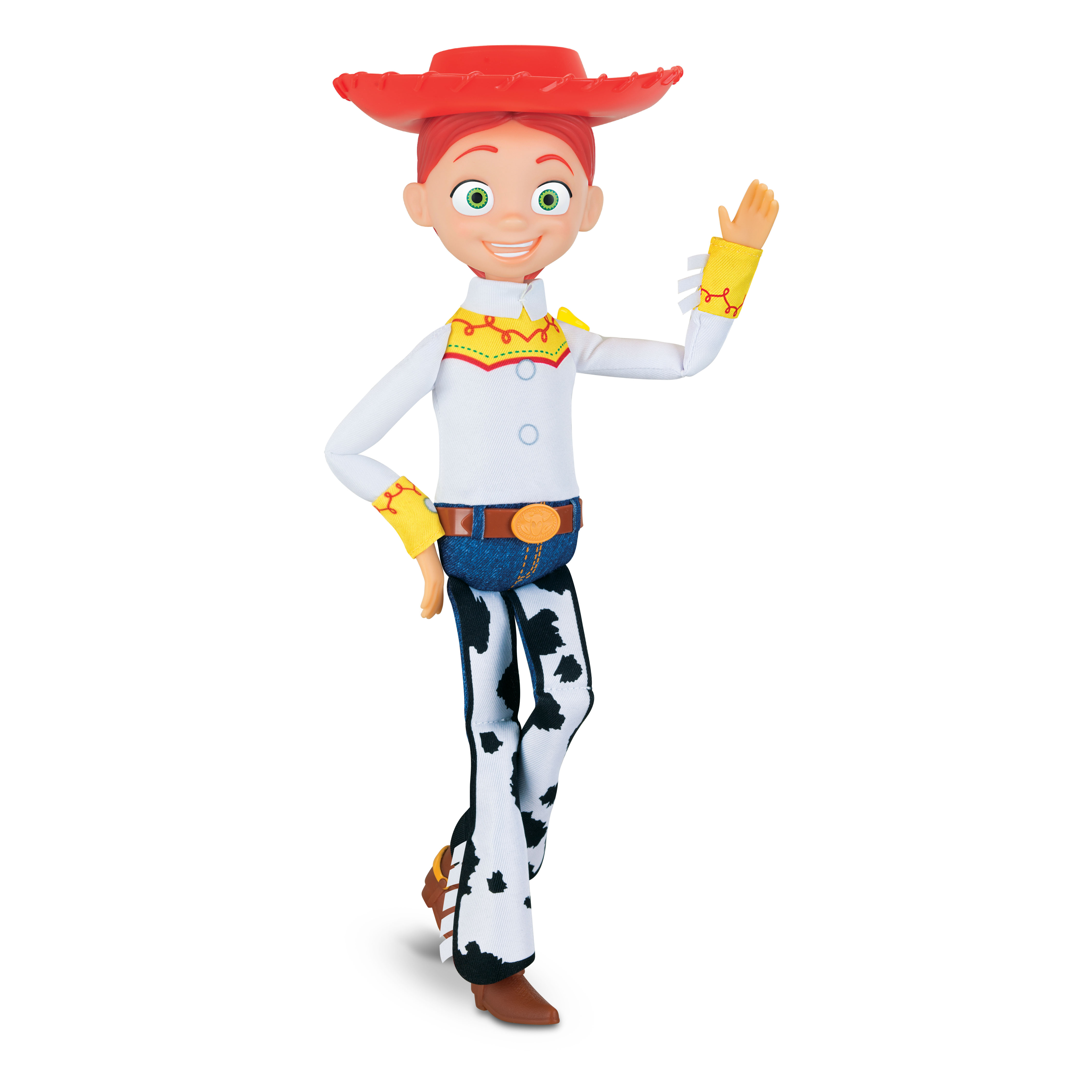 Disney Pixar Toy Story COWGIRL JESSIE Deluxe Pull-String Action Figure