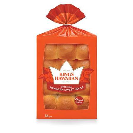 King's Hawaiian® Original Hawaiian Sweet Rolls 12 ct Pack