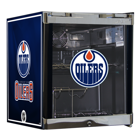 NHL Wine Cooler 1.8 cu ft- Edmonton Oilers by