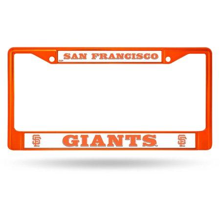Rico Industries MLB Color License Plate Frame, San Francisco Giants - Mlb Baseball License Plate Plates
