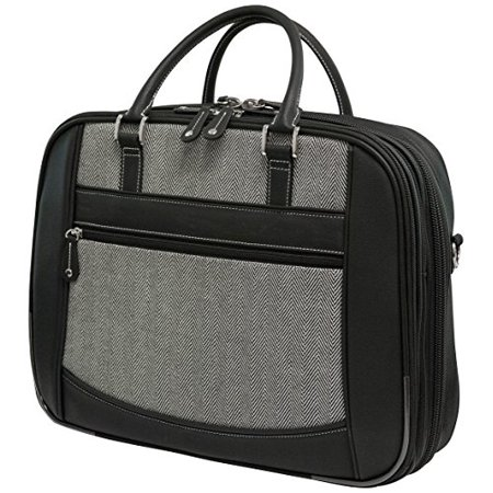 Mobile Edge Select V-load Notebook Case - Top-loading - Shoulder Strap - Leather - Black (mesfebhs)