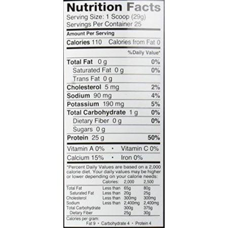 Dymatize Iso 100 Protein Powder, Smooth Banana, 1.6 Lb