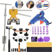 Car Body Paintless Dent Repair Removal Tools Pops a Slide Hammer Golden Lifter Hot Melt Glue Gun Pro Glue Sticks Suction Cup