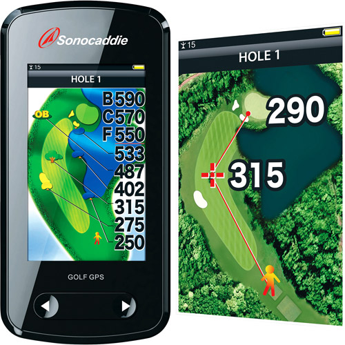 Sonocaddie V500 Touch Color Golf GPS