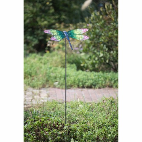 Sunjoy 110309006 Large Dragonfly Garden Stake by SunNest Services LLC