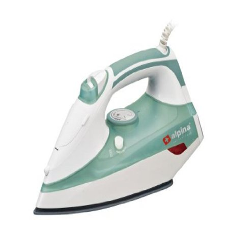 Alpina SF-1318 Powerful Automatic Shut-off Non-stick Full Function 2200 Watt Steam Iron - For 220V-240 Volt Countries