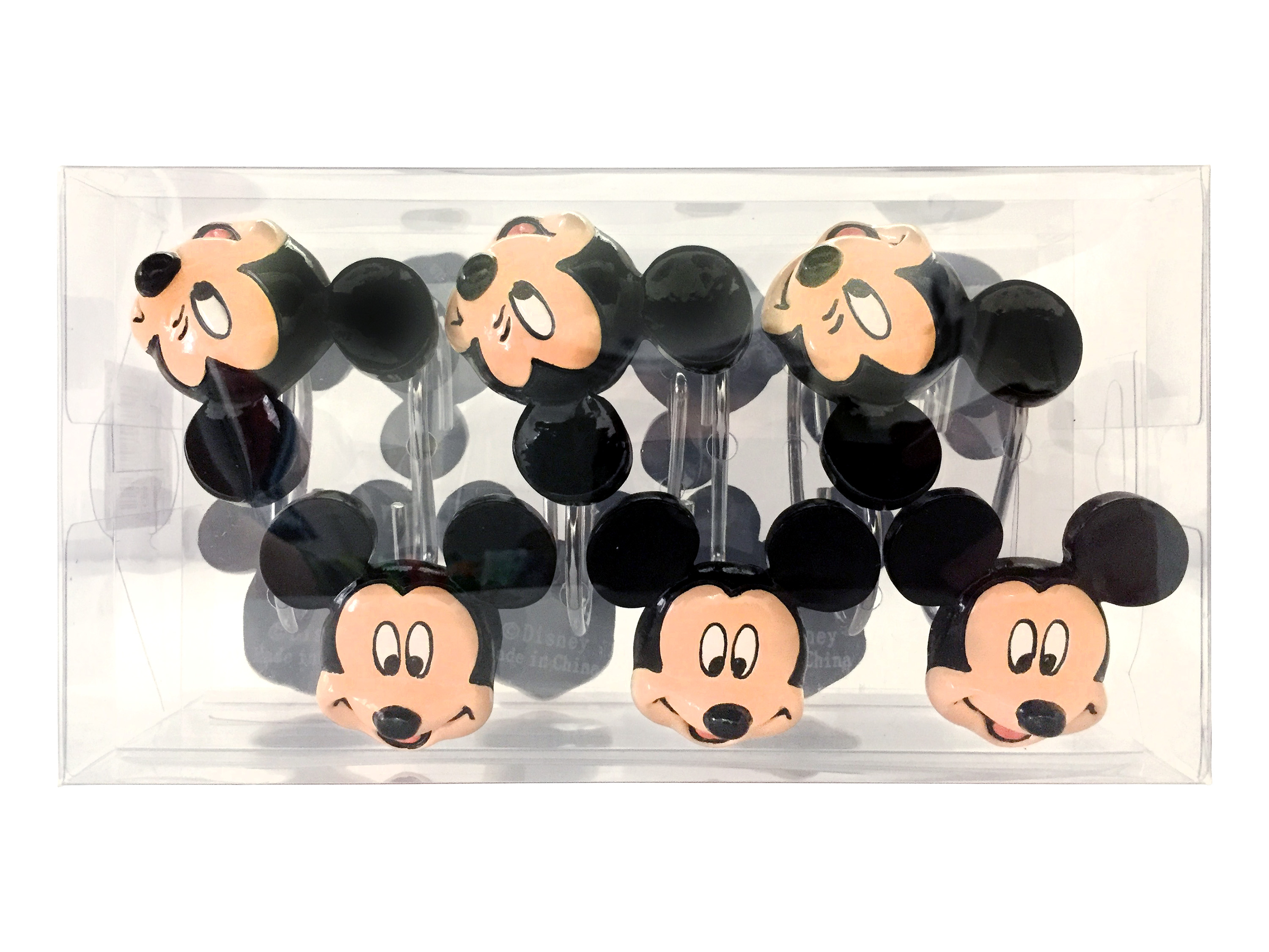 Disney Mickey Mouse Shower Curtain Hooks 1 Each Walmart Com
