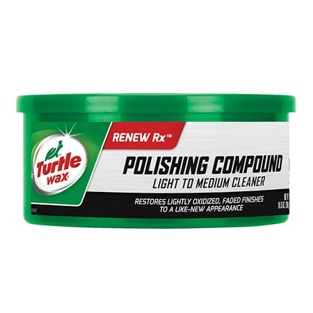 turtle wax t-241a polishing compound & scratch remover - 10.5