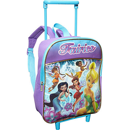 Disney Fairies 12 Inch Rolling Backpack